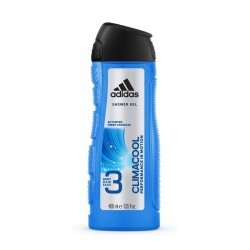 Adidas Climacool Performance in Motion 3 in1 Body, Hair & Face Shower Gel 400 ml