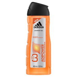 Adidas Adipower Maximum Performance 3 in 1 Body, Hair & Face Shower Gel 400 ml