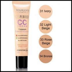 Bourjois 1, 2, 3  Perfect CC Cream Foundation Size: 30 ml – 1 fl oz