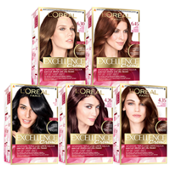 L'Oreal Excellence Hair Colour [11 Colors To Choose]